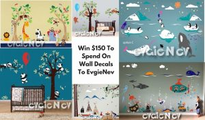 December Evgie Wall Decals Giveaway