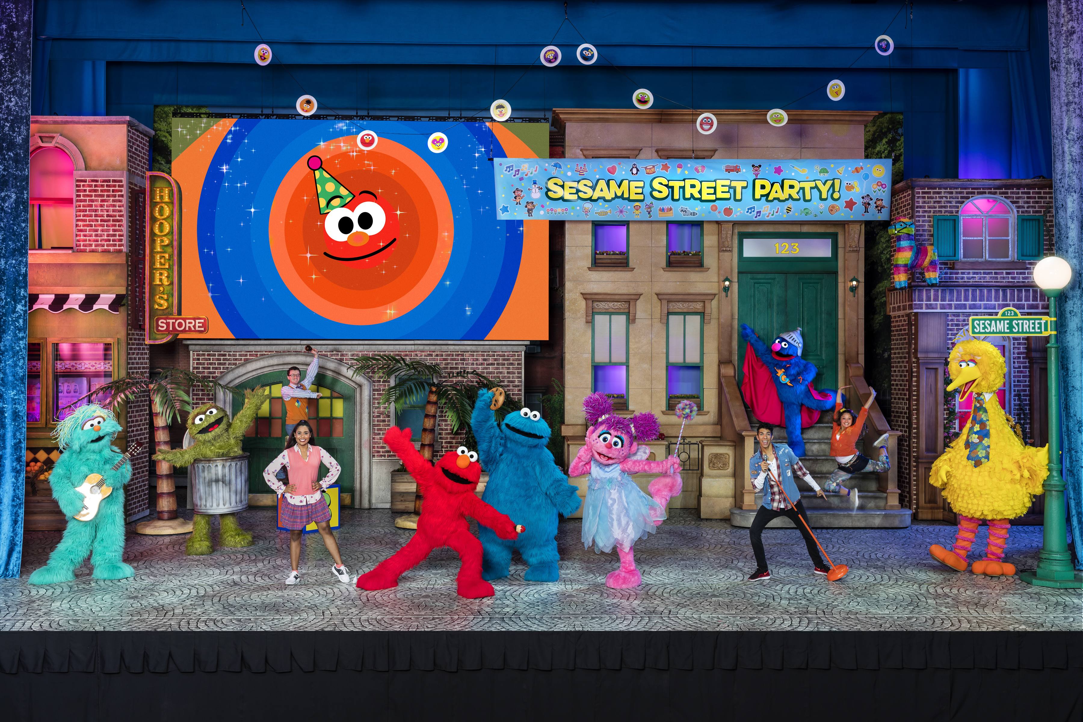 Sesame Street Live Coming to the Fox Theatre Detroit ...