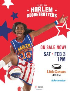 Harlem Globetrotters Coming to Little Caesars Arena & Giveaway