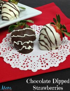 Chocolate Dipped Strawberries – #ValentinesSweets