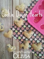 Cookie Dough Hearts – #ValentinesSweets