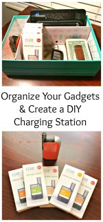 Organize Your Gadgets & Create an Easy Charging Station