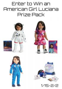 American Girl Luciana Doll & Space Suit Giveaway