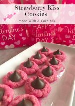 Strawberry Kiss Cookies – #ValentinesSweets
