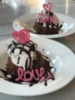 Lava Cakes for 2 With Chocolate Decorations – #ValentinesSweets