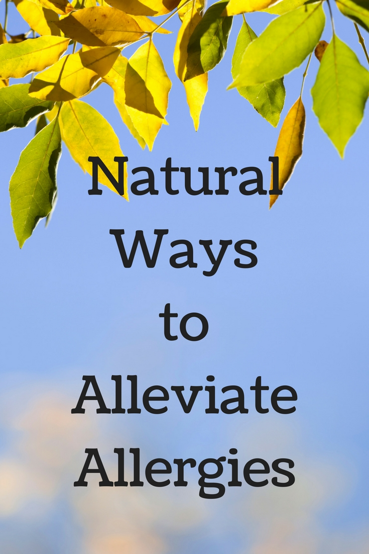 Natural Ways To Alleviate Allergies