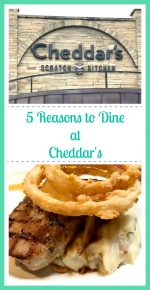 5 Reasons to Dine at Cheddar's Scratch Kitchen