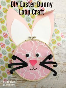 Easter Bunny Loop Craft – #EasterSweetsandTreats