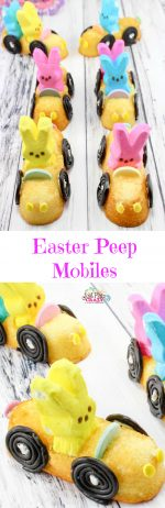 Easter PEEP Mobiles Recipe – #EasterSweetsandTreats