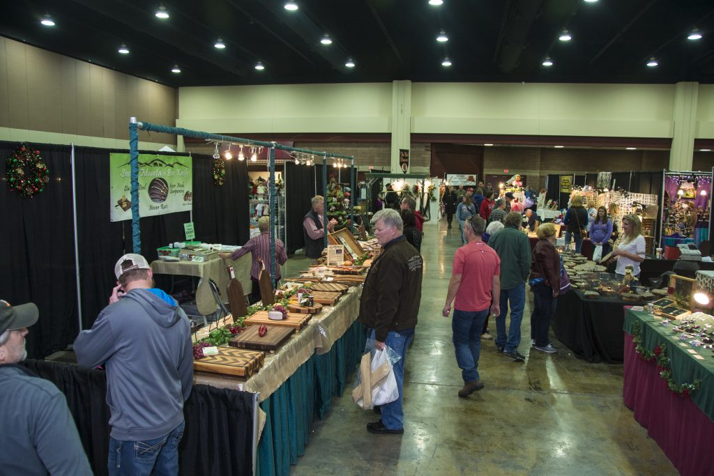 Things to do this spring in gatlinburg finding sanity in for Gatlinburg civic center craft show