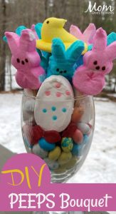 DIY Easter PEEPS Bouquet – #EasterSweetsandTreats