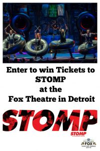 STOMP Coming to the Fox Theater Detroit March 16th & 17th