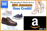 $50 Amazon Shoe Credit Giveaway – Ends 4/22