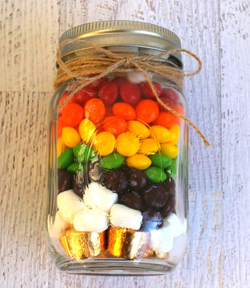 St. Patrick's Day Skittles Treat Jar