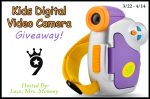 Kids Digital Video Camera Giveaway – Ends 4/14