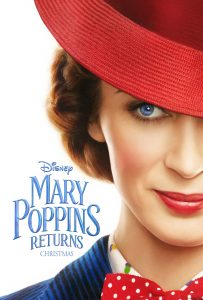 MARY POPPINS RETURNS Trailer and Movie Poster – #MaryPoppinsReturns