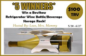 BevStow Refrigerator Wine Bottle/Beverage Storage Rack Giveaway!- Ends 6/27