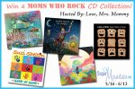 MOMS WHO ROCK CD Collection Giveaway – Ends 6/13