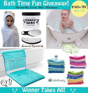 Bath Time Fun Giveaway – Ends 7/4