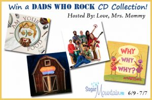 Dads Who Rock CD Collection Giveaway – Ends 7/7