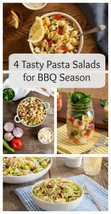 4 Tasty Pasta Salads for BBQ Season
