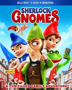 SHERLOCK GNOMES on DVD June 12th & Giveaway – Ends 6/16