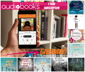 AudioBooks 1 Year Subscription Giveaway – Ends 6/30