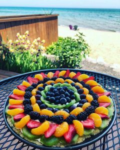 Cheesecake Tart Fruit Pizza