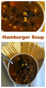 30 Minute Meal – Hamburger Soup
