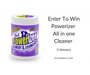 Powerizer – All-in-1 Product That Can Replace ALL Your Cleaning Products + Giveaway
