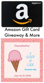 A Scoop of Luck Giveaway Hop – Ends 7/31