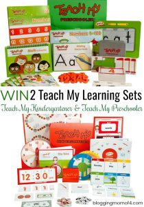 Summer Learning With Teach My Learning Kits Giveaway – Ends 7/14