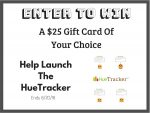 Discover the  HueTracker App & enter to win a $25 Gift Card Giveaway – Ends 8/20