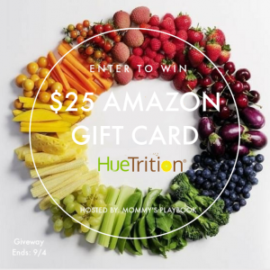 HueTrition $25 Amazon Gift Card Giveaway – Ends 9/4