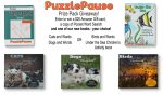 PuzzlePause Prize Pack & $25 Amazon Gift Card Giveaway – Ends 9/4