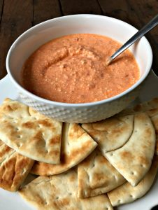 Zesty Feta Dip With Pita Chips