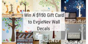 Evgie Wall Decals Giveaway – Ends 9/14