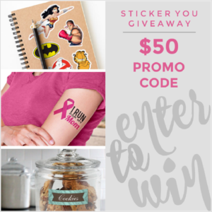 $50 Gift Card to Sticker You Giveaway – Ends 9/21