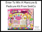 Kid's Manicure & Pedicure Set Giveaway – Ends 10/9