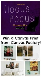 Share Your Favorite Photo Memories with Canvas Factory & Giveaway – Ends 10/31
