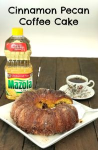 Cinnamon Pecan Coffee Cake Recipe (With Better For You Recipe Swaps)