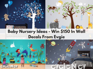 $150 Gift Card to EvgieNev Wall Decals Giveaway – Ends 11/20