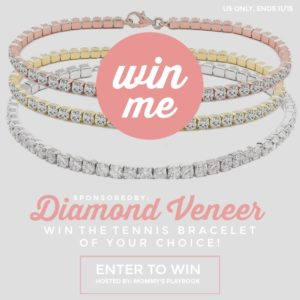Diamond Veneer Tennis Bracelet Giveaway – Ends 11/15
