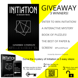 Initiation Book Giveaway – Ends 11/27