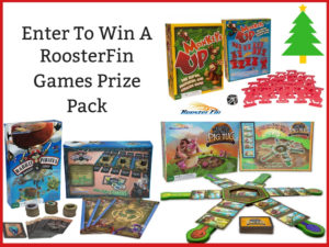 RoosterFin Games Prize Pack Giveaway – Ends 11/19