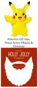 Power Action Pikachu and Holly Jolly Giveaway Hop – Ends 12/15