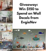 December $150 EVGIE Wall Decals Giveaway – #EvgieNev