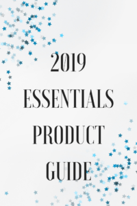 2019 Essentials Product Guide