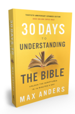 30 Days to Understanding the Bible – #Biblein30Days