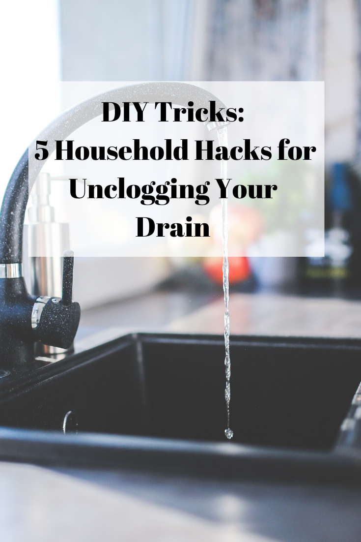 unclogging your drain